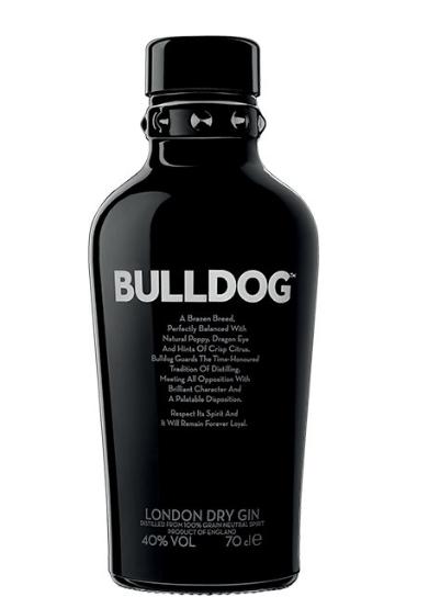 2 botellas de LITRO de Ginebra BULLDOG