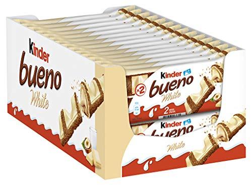 Pack de 30 paquetes Kinder Bueno White