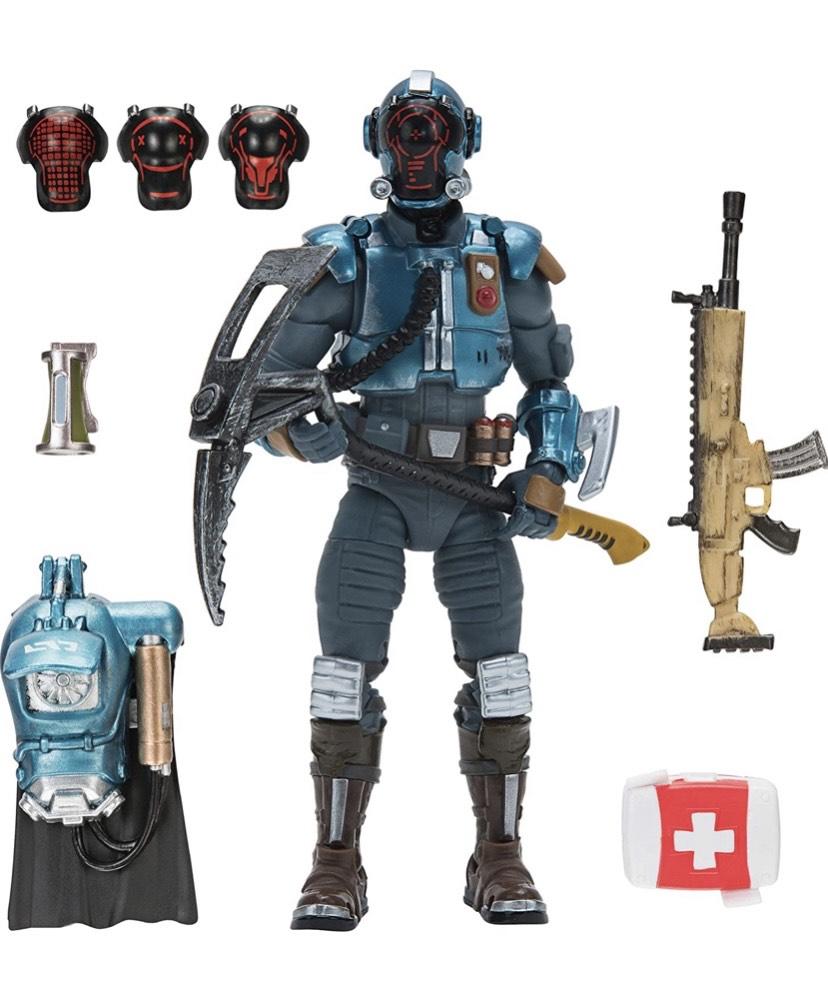 Toy Partner- figure Fortnite con accesorios Juguete leer descripción