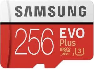 Samsung Evo Plus MicroSDXC 256GB UHS-I U3 Clase 10 + Adaptador