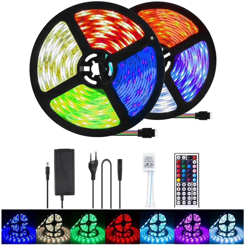 Tira LED 10m RGB 300 LEDS solo 7.9€