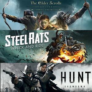 Juega GRATIS The Elder Scrolls Online, Hunt: Showdown y Steel Rats #XBOX