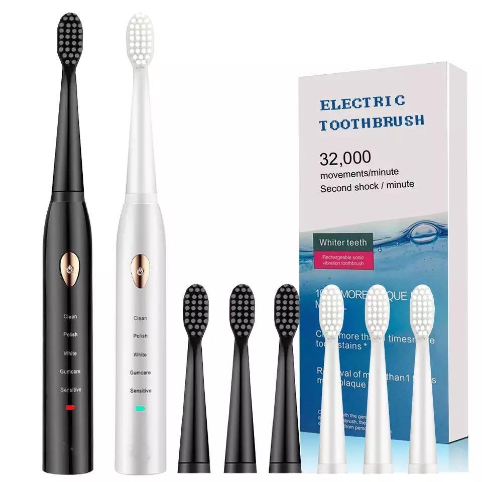Cepillo de dientes eléctrico + 3 cabezales