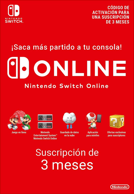 Nintendo Online 3 Meses Eneba