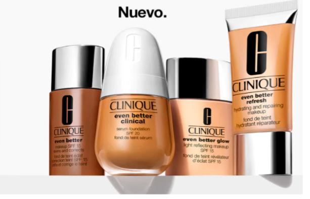 Muestras Gratis base de maquillaje de Clinique Even Better en ECI