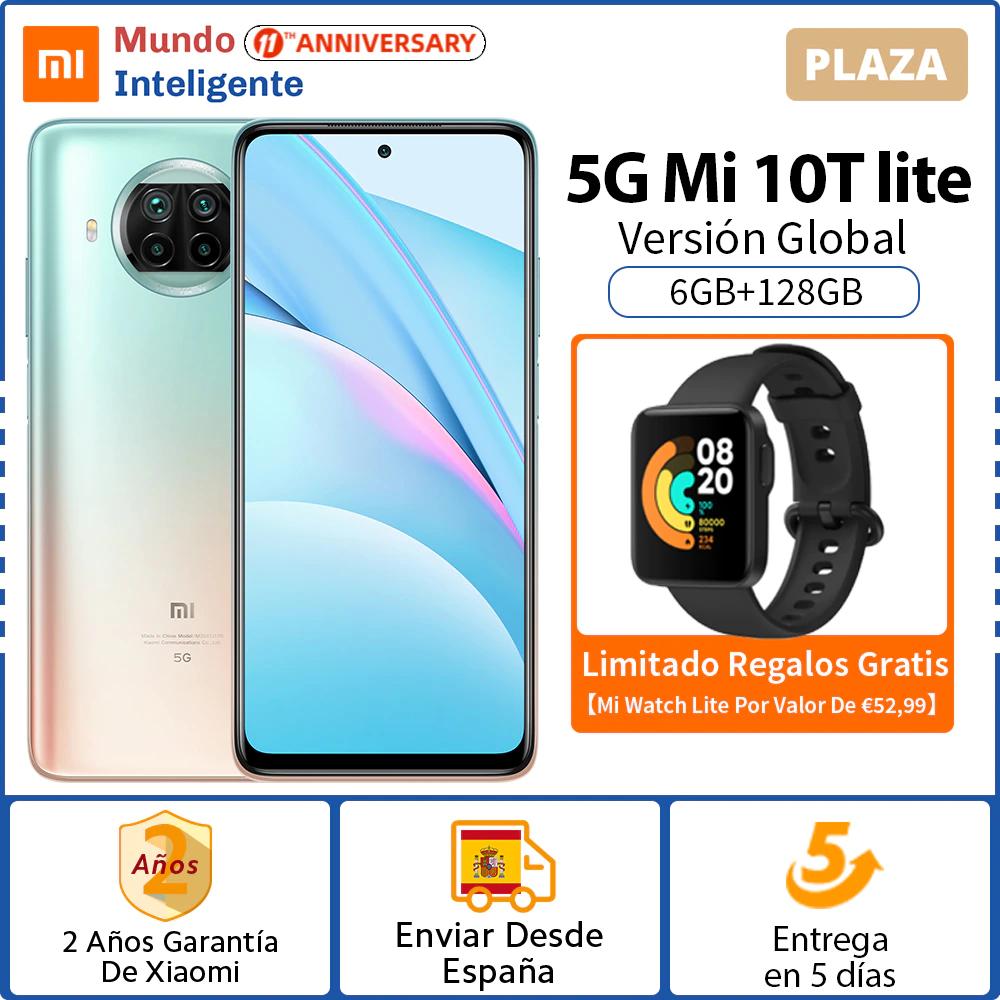 Xiaomi Mi 10T Lite 5G 6GB+128GB desde ESPAÑA