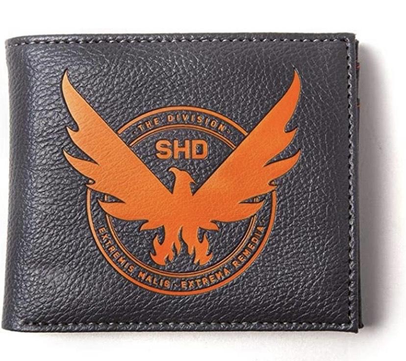 The Division 2 - Cartera plegable con logo SHD multicolor