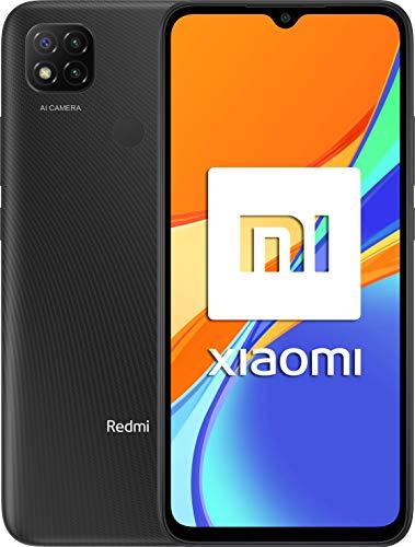 "Xiaomi Redmi 9C NFC- 6.53"" HD+ (3GB+64GB, 3x cámara trasera de 13MP con IA, MediaTek Helio G35, Batería 5000 mAh, 10 W carga rápida)"