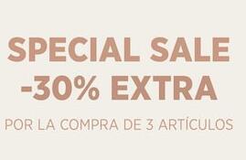 -30% extra por la compra de 3 artículos en Mango Outlet