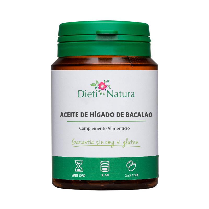 Aceite de Hígado de Bacalao [60 cápsulas]