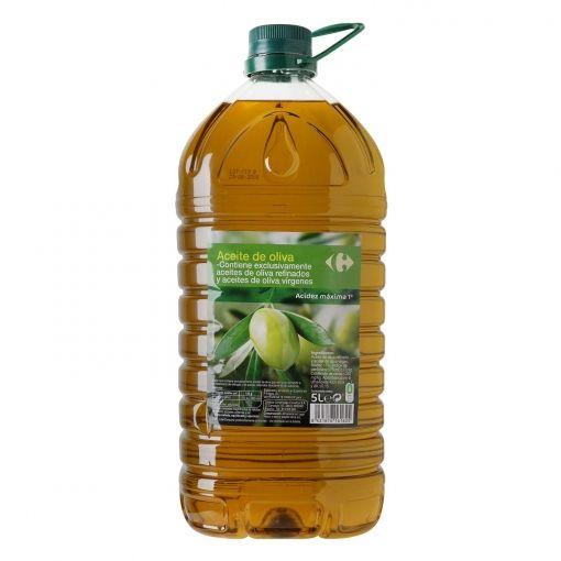 Aceite de oliva intenso 1º Carrefour garrafa 5 l.