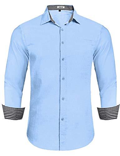 Camisa de Lino para el veranito, varias tallas y colores.