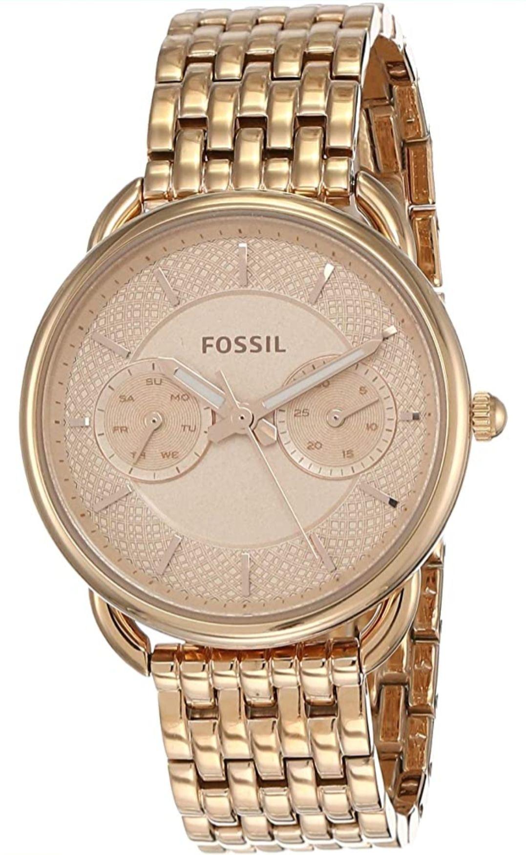 Reloj Analogico Mujer FOSSIL - Oro rosa