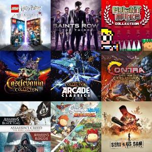 Packs, Colecciones o Lotes :: Contra, Castlevania, Arcade y otros (Nintendo Switch)