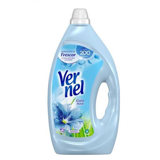 2x Suavizante concentrado cielo azul Vernel 174 lavados.