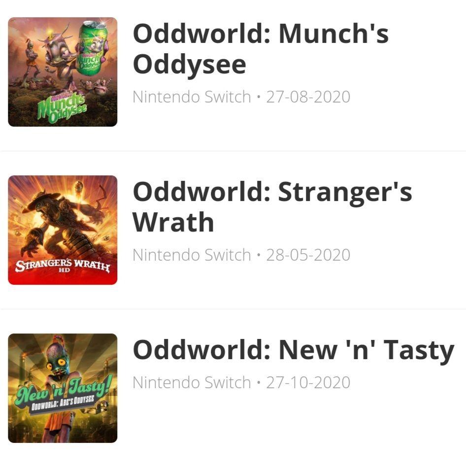 Saga Oddworld (Switch)