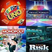 Juegos de Mesa - Monopoly, Uno, Trivial, Cluedo o Risk desde 3,99€ [Nintendo Switch]