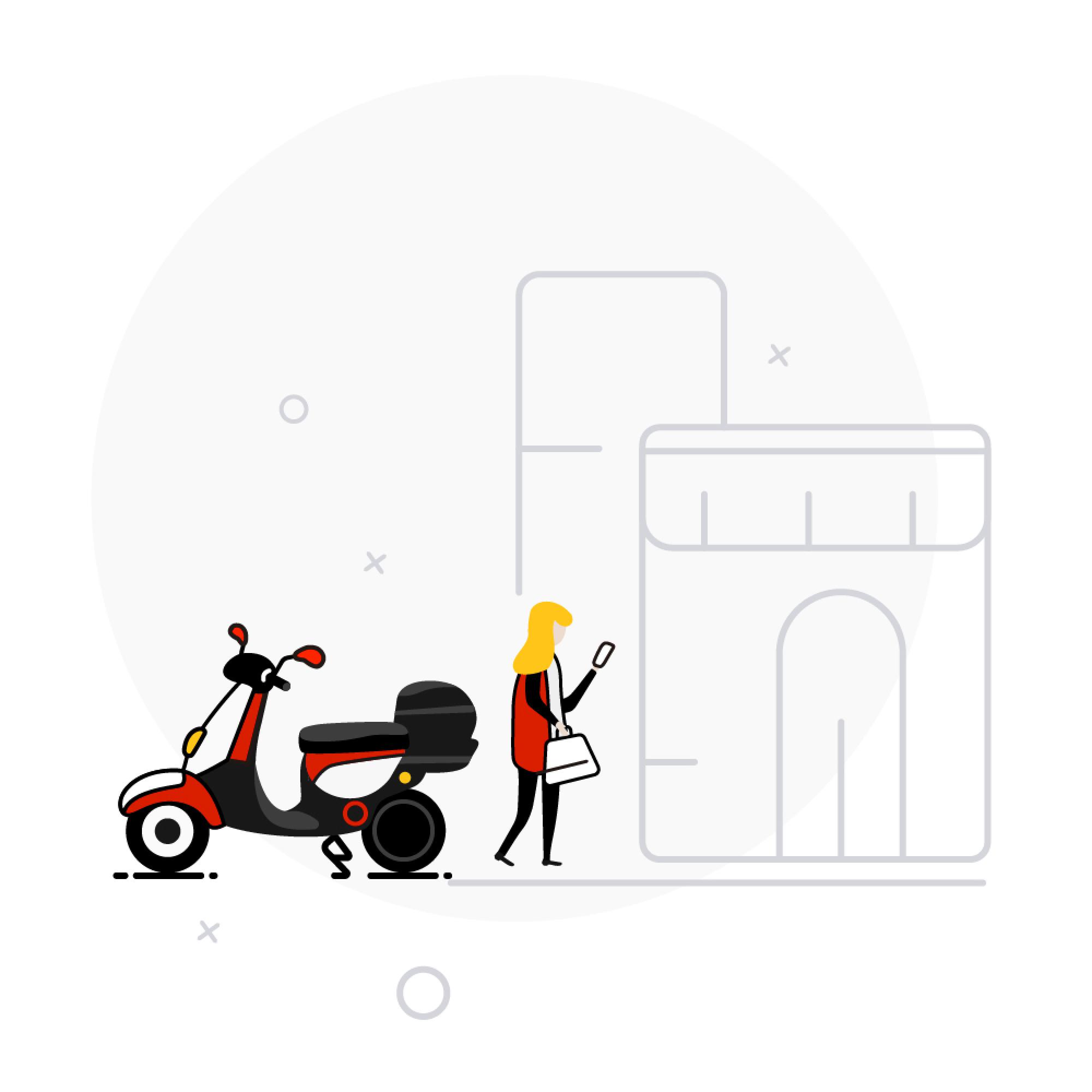 40 minutos gratis en motosharing de Acciona