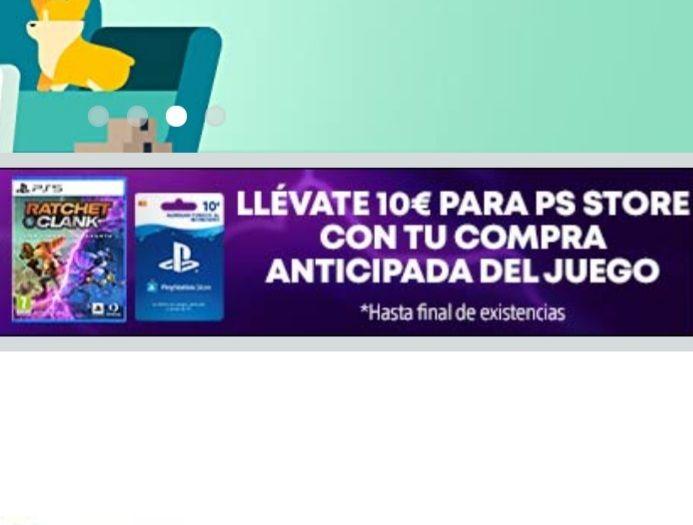 Regalo de 10€ y DLC Exclusivo por reserva anticipada de Ratchet & Clank Una Dimensión Aparte (PS5)