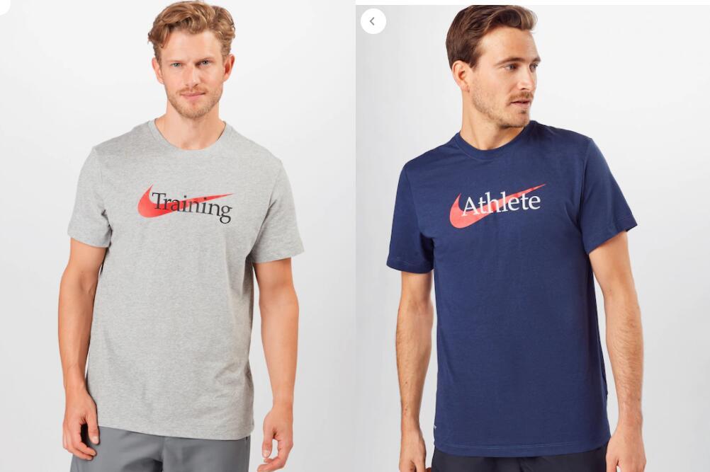 En 2 Modelos - Tallas S a XXL - Camiseta para Hombre NIKE Training o Athlete