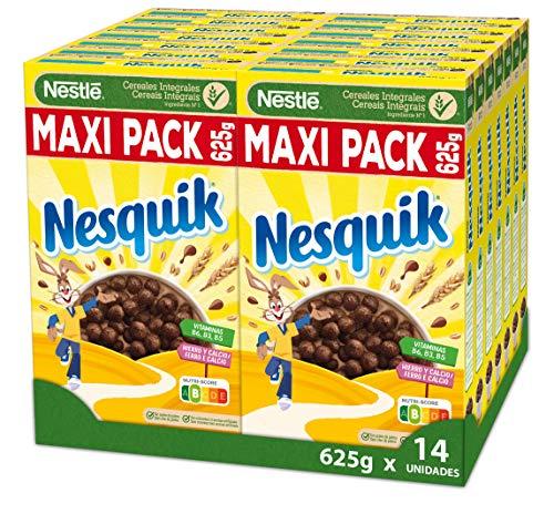 14 paquetes de Cereales Nesquik