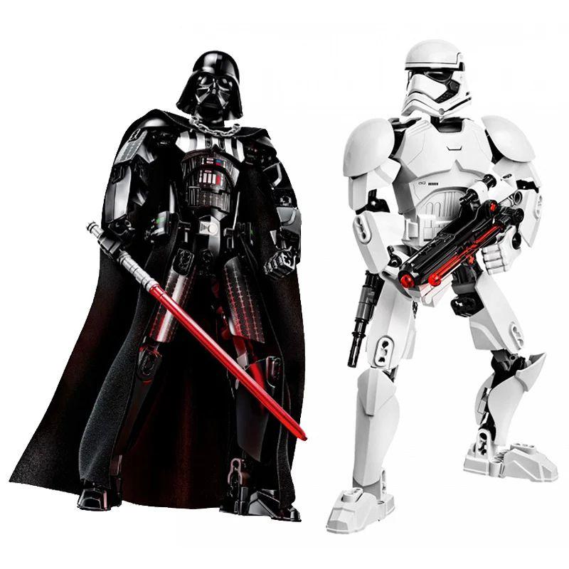Figuras Star Wars desmontables 24-30cm (varios modelos)