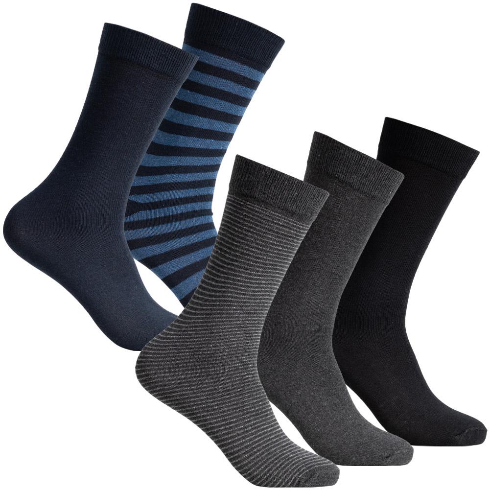 Pack 5 pares de calcetines hombre