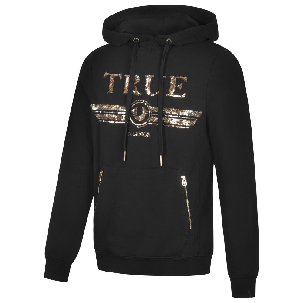 True Religion Trucci Sequin Sudadera de Hombre con capucha