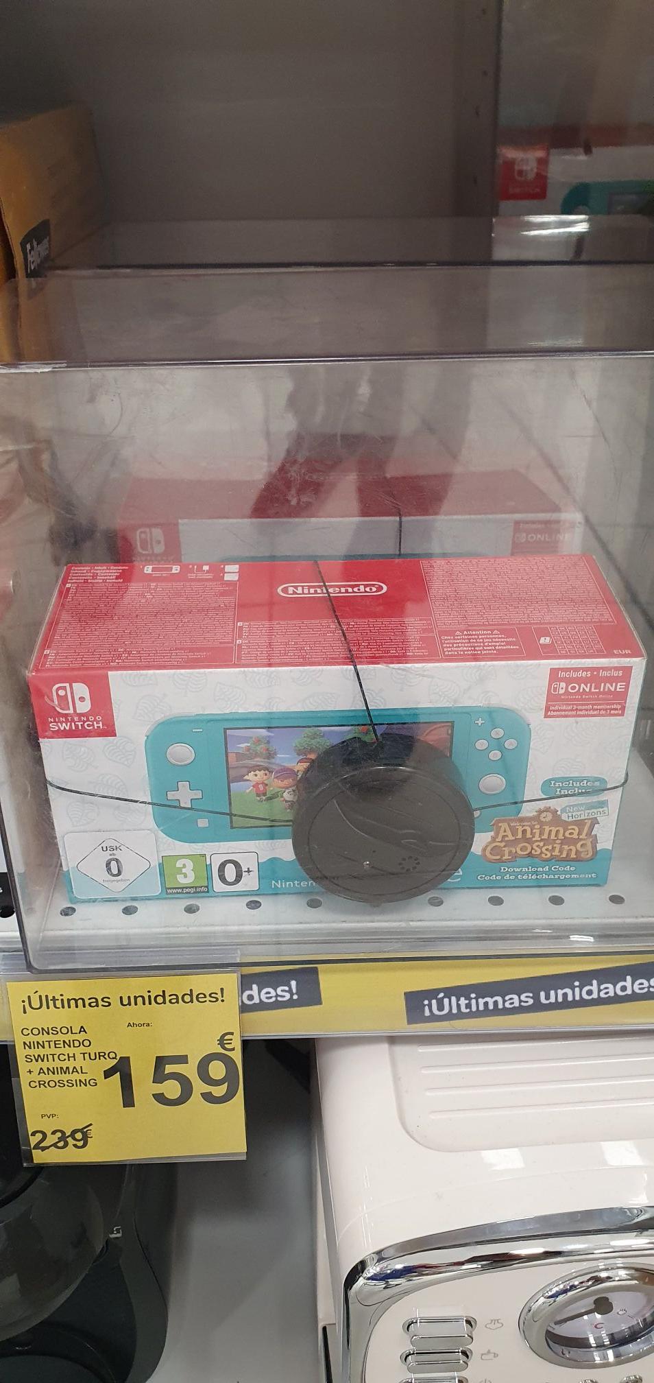 Nintendo Switch Lite + Animal Crossing + 3 meses Online en Carrefour Sa Coma (Mallorca)