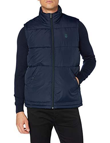 Izod Solid Puffer Vest Chaleco para Hombre, talla M