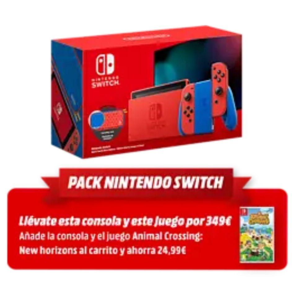 Nintendo Switch Edición Mario + Animal Crossing