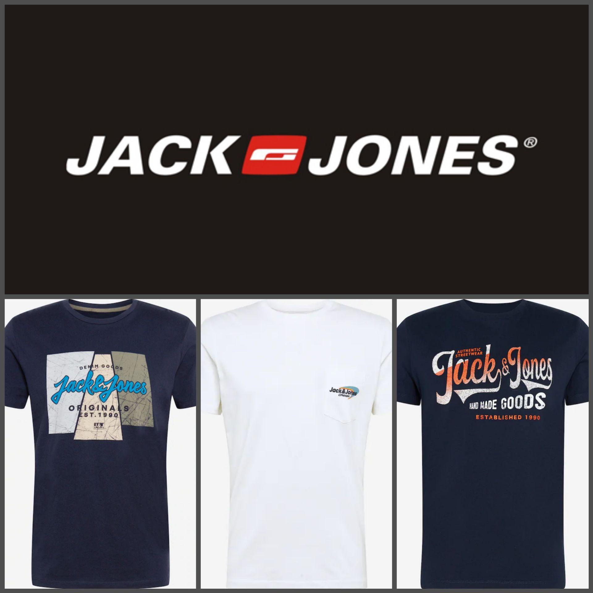 Recopilación Camisetas Jack&Jones (por menos de 7€)