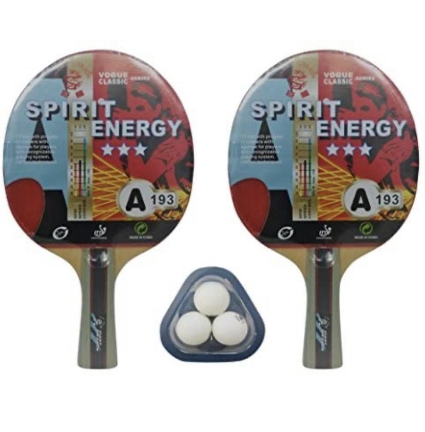 Set de Ping Pong (2 Palas y 3 Pelotas) Kounga GD