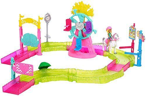 Barbie On the go, Parque de atracciones, muñeca con accesorios