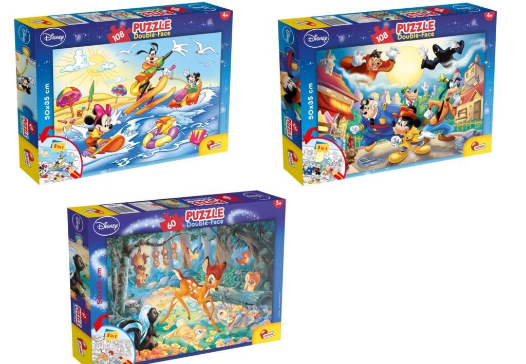 3 Modelos Diferentes - Puzzles de Doble Cara Disney por solo 5.50€/Unidad