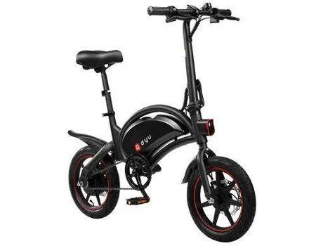 Bicicleta Eléctrica DYU D3F (Velocidad Máx: 25 km/h   Autonomía: 20 km)