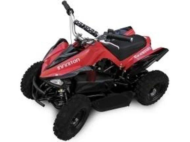 Moto Eléctrica Quad INFINITON 500 Roja (Velocidad Máx: 30 km/h | Autonomía: 25 km)