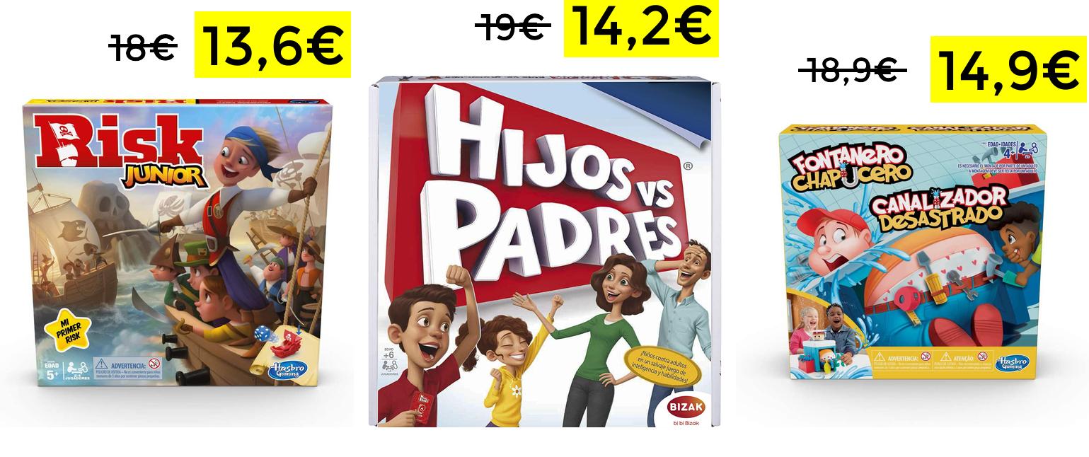 Juegos de mesa desde 13.6€ (descuento automático)