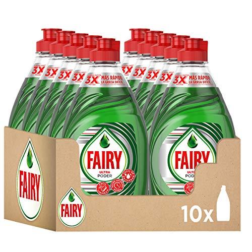 Lavavajillas Fairy 450 ml. x 10 uds. (1,23 €/ud)