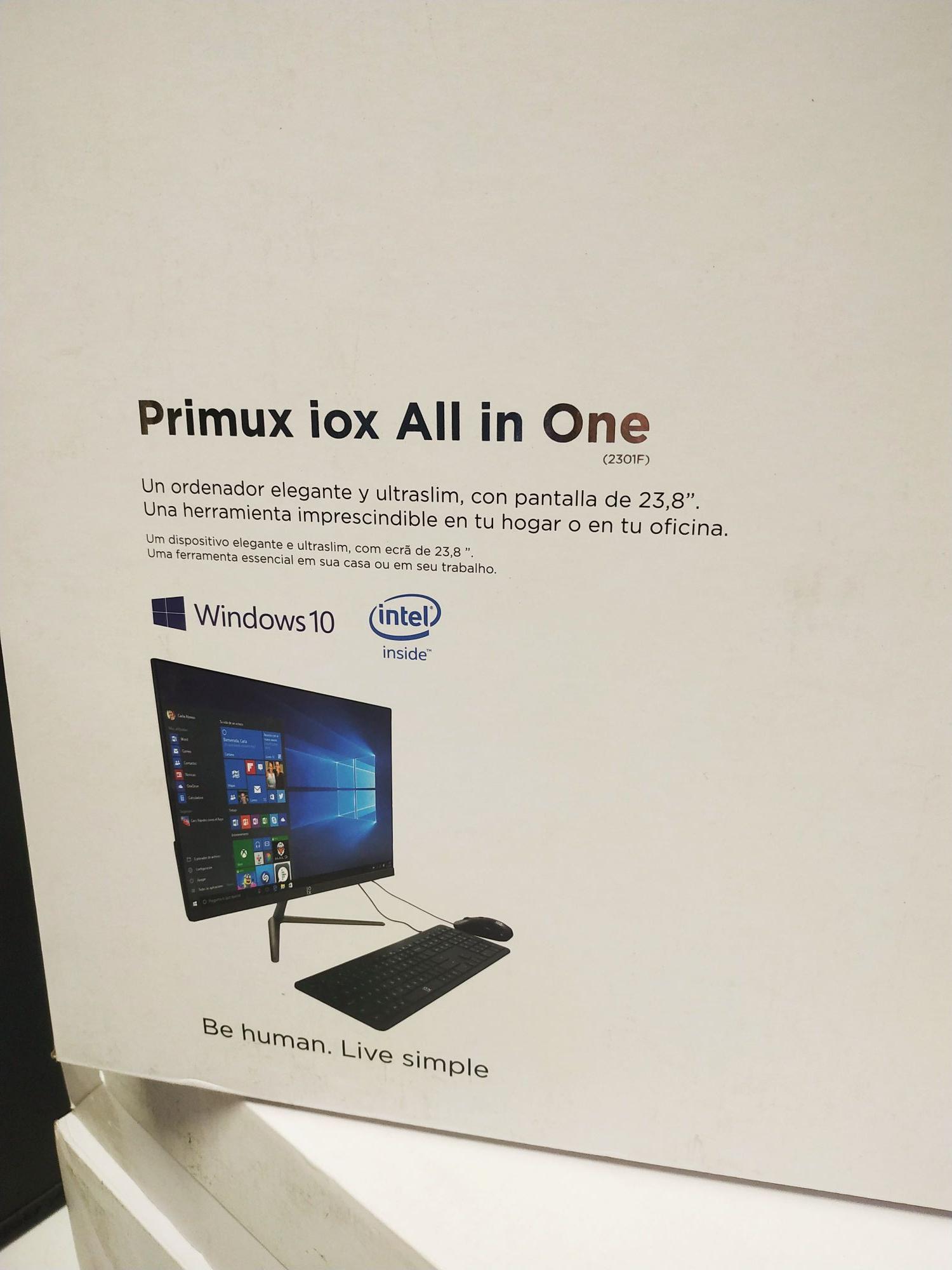AIO Primux All in One IOX 23D3350G (El Corte Inglés Tarragona)