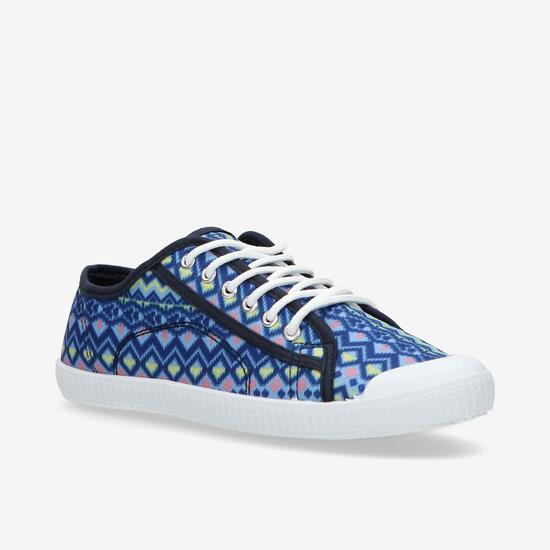 Zapatillas Lona Azul Marino para mujer solo 2,99 euros si lo recoges en tienda