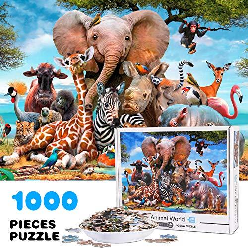 Puzzle de 1000 Piezas, impresión de Alta Definición (70 x 50 cm)