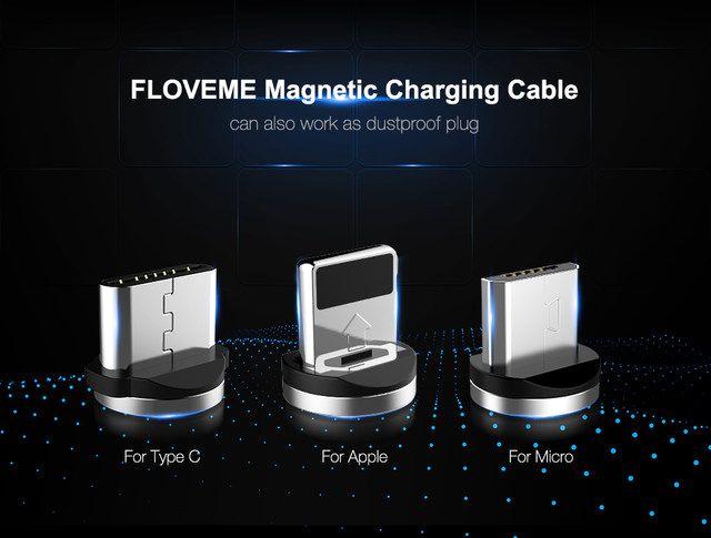 Cable usb magnético