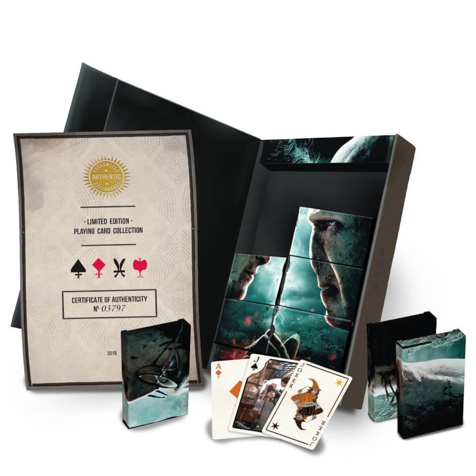 Pack Coleccionista de 8 juegos de cartas de Harry Potter Edición Limitada