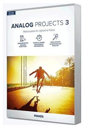 Edición de Fotografía: ANALOG Projects 3 (GRATIS) - 2 PCs - Licencia de por vida