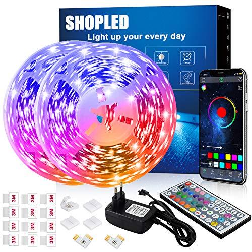 Tira LED 12M | 5050 RGB | Control Remoto y Aplicación