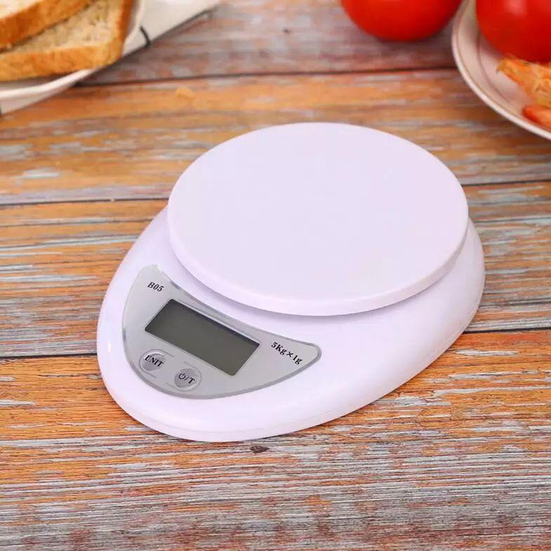Báscula digital de cocina, hasta 5kg