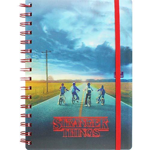 Stranger Things Cuaderno con Tapa 3D