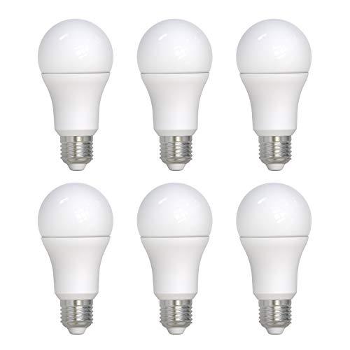 6 Bombilla UMI LED A70 con casquillo Edison E27, 14 W