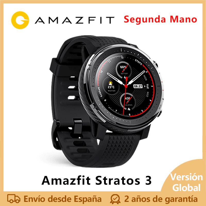 Amazfit stratos 3 desde España (2 mano)
